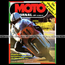 MOTO JOURNAL N°189-b ROGER DE COSTER ISDT JOËL QUEIREL BOSSE THOMBLON 1974