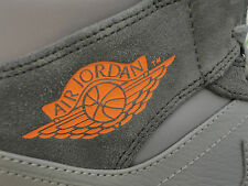 Nike Air Jordan 1 Mid, Leather / Suede, Bobcats Colors, Size 11.5