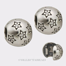 Authentic Pandora Sterling Silver Twinkle Twinkle CZ Clips (2) 791058CZ SPECIAL