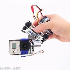 New DJI Phantom Brushless Camera 2*Motor & V3 Gimbal Controller for Gopro 3 FPV