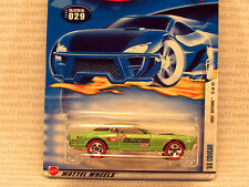 RLC APOLOGY VARIATION '68 MERCURY COUGAR 1968 2002 FIRST EDITIONS HOT WHEELS