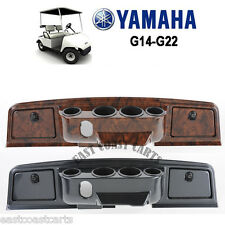 Yamaha G14, G16, G19 G20, G20, G22 Golf Cart Dash Cover Woodgrain, Carbon Fiber