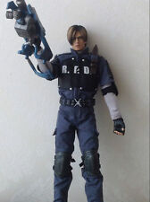 Custom1:6 Hot Toys  Resident Evil 4 Leon S. Kennedy R.P.D. Version Scale Figure
