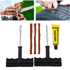 6x/Set Car Auto Tubeless Tire Tyre Puncture Plug Repair Kit tool Scooter Quad UK