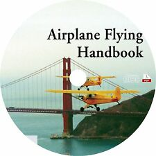 How to Fly Planes, Learn Basic Pilot Flight Skills ~ Technical Manual Book on CD