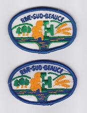 SCOUT OF CANADIAN - ASSOCIATION DES SCOUTS DU CANADA (ASC) RIVE-SUD-BEAUCE Patch