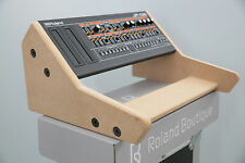 DOUBLE ROLAND BOUTIQUE 2 TIER STAND CUSTOM MADE HOLDS 2 SYNTHS JX03 JP08 JU06