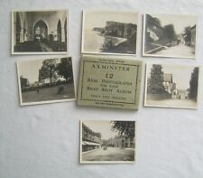 12 Real Photographs For Your Snap Shot Album Axminster England Valentines