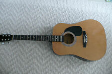 BURSWOOD esteban sign accoustic guitar Beautiful condition 6 string Dreadnought