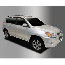 New Smoke Side Window Vent Visors Rain Guards for Toyota RAV4 2006 - 2012