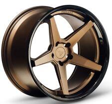 20x9 Ferrada FR3 5x114 ET35 Matte Bronze Wheels (Set of 4)