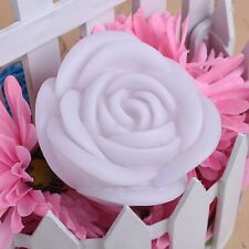 Rose Flower LED Light Night Candle Lamp Romantic Wedding Party  Changing 7 Color