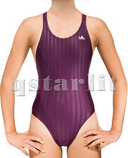 Girl's Racing Competition Aqua Blade Bathing Swimsuit Size 28 / S / Girls 10