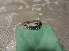 Splendida veretta anello con swarovski e con diamante diamond and swarovski ring