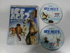 ICE AGE 2 SPECIAL EDITION 2 DVD STEELBOOK + EXTRAS ENGLISH DEUTSCH - GERMAN EDIT