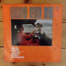 """Sonja Salvis, Gustav Brom Orchestra - Send For Me - 12"""" LP Vinyl Schallplatte"""