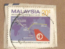 Ori mounted on envelope Mas airplane  stamp 20c