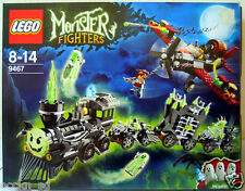 LEGO MONSTER FIGHTERS 9467 The Ghost Train * Good Condition, Used *