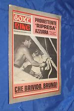 rivista pugilato Boxe - BOXE RING - Anno 1972 Numero 20 ARCARI