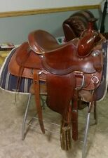 "Alamo roping saddle, 16""seat, FQHB, super comfortable, great condition"