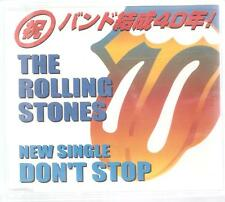 "ROLLING STONES ""Don`t Stop"" 3 Track Japan Promo CD"