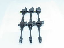 Set of 6 Ignition Coils Packs Kit for 00-01 Maxima & 00-01 I30 Free Grease Pack!