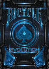 EVOLUTION BICYCLE DECK LIMITED EDITION PLAYING CARDS USPCC MAGIC TRICKS COLLECT