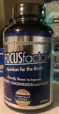 FOCUSfactor Brain Supplement 150 Pills, Support Memory, Concentration, Focus
