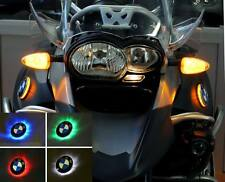 Bmw r1200gs Adventure hasta modelo 2013 dos colores LED emblema intermitente: azul/amarillo