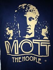 MOTT THE HOOPLE HAMMERSMITH APOLLO TOUR 2009 SMALL T- SHIRT ROCK  OUT OF PRINT