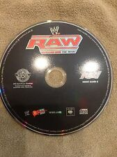 WWE Monday night Raw Music CD Used disc only