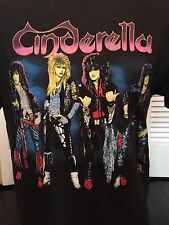 Vintage Cinderella 86 Night Songs Tour Shirt Sz M/L Rock Heavy Metal Glam Blues