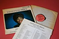 SB 6700 Leontyne Price Prima Donna Great Soprano Arias from Purcell to Barber