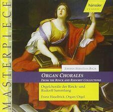 Bach Choräle für Orgel der Rinck- und der Rudorff-Sammlung Franz Haselböck  OVP