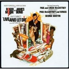 OST/LIVE AND LET DIE (REMASTERED)  CD 22 TRACKS SOUNDTRACK JAMES BOND NEU