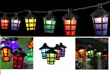 20 LED LANTERNA FAIRY stringa luci INDOOR OUTDOOR GARDEN CHRISTMAS PARTY 9 M 240V