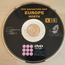 Toyota Lexus ORIGINAL Navigation Navi DVD E1E 2017 North Europe Nord Europa