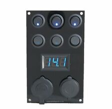 Citroen Relay Campervan  Switch Panel / Voltmeter/12V USB Panel Campervan