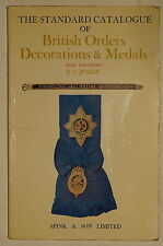 Standard Catalogue of British Orders Decorations Medals Reference Book
