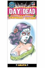 LOLITA DAY OF THE DEAD TATTOO 1 PC TEMPORARY FAKE BODY ART GAG NOVELTY KIDS TOY