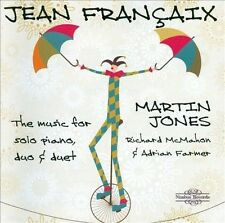Fran‡aix: The Music for Solo Piano, Duo & Duet (CD, Apr-2012, 3 Discs, Nimbus...