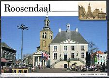 Voorgefrankeerde ansichtkaart Roosendaal Sint-Janskerk en Stadhuis - Postcard