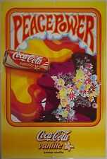 Affiche PEACE POWER COCA COLA VANILLE - 120x177 cm