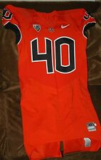 Michael Doctor Oregon State Beavers GAME WORN jersey! #40 Orange size 42 NCAA