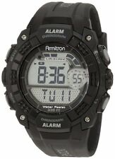 Armitron Sport Mens Digital Chronograph Black Watch 40/8209BLK