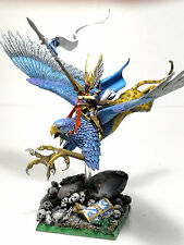 ** WARHAMMER ** HIGH ELVES PRINCE ON GRIFFON ISLAND OF BLOOD - MASTER PAINT