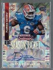 2015 Contenders Cracked Ice Season Ticket Dante Fowler Jr. Auto Rc # /23 MINT