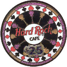 Hard Rock Cafe ONLINE 2002 $25 Poker Casino Chip PIN HRO On-Line Exclusive