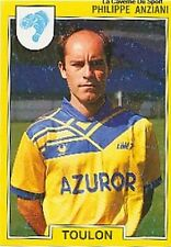 N°271 PHILIPPE ANZIANI SC.TOULON VIGNETTE PANINI FOOTBALL 92 STICKER 1992