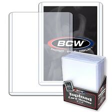 100 3X4 Rigid Card Toploader Holders Plus 100 Penny Card Sleeves